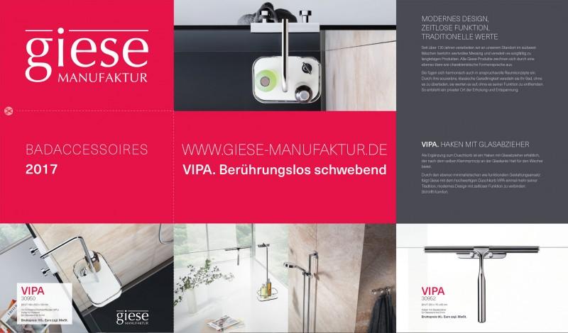 Grafikdesign Layout Postermail Giese Manufaktur von freiraum id