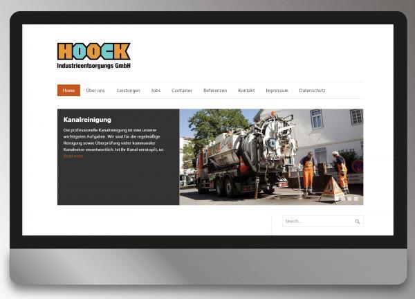 Hoock Industrieentsorgungs GmbH - Viernheim - Webdesign Andrea Zinecker