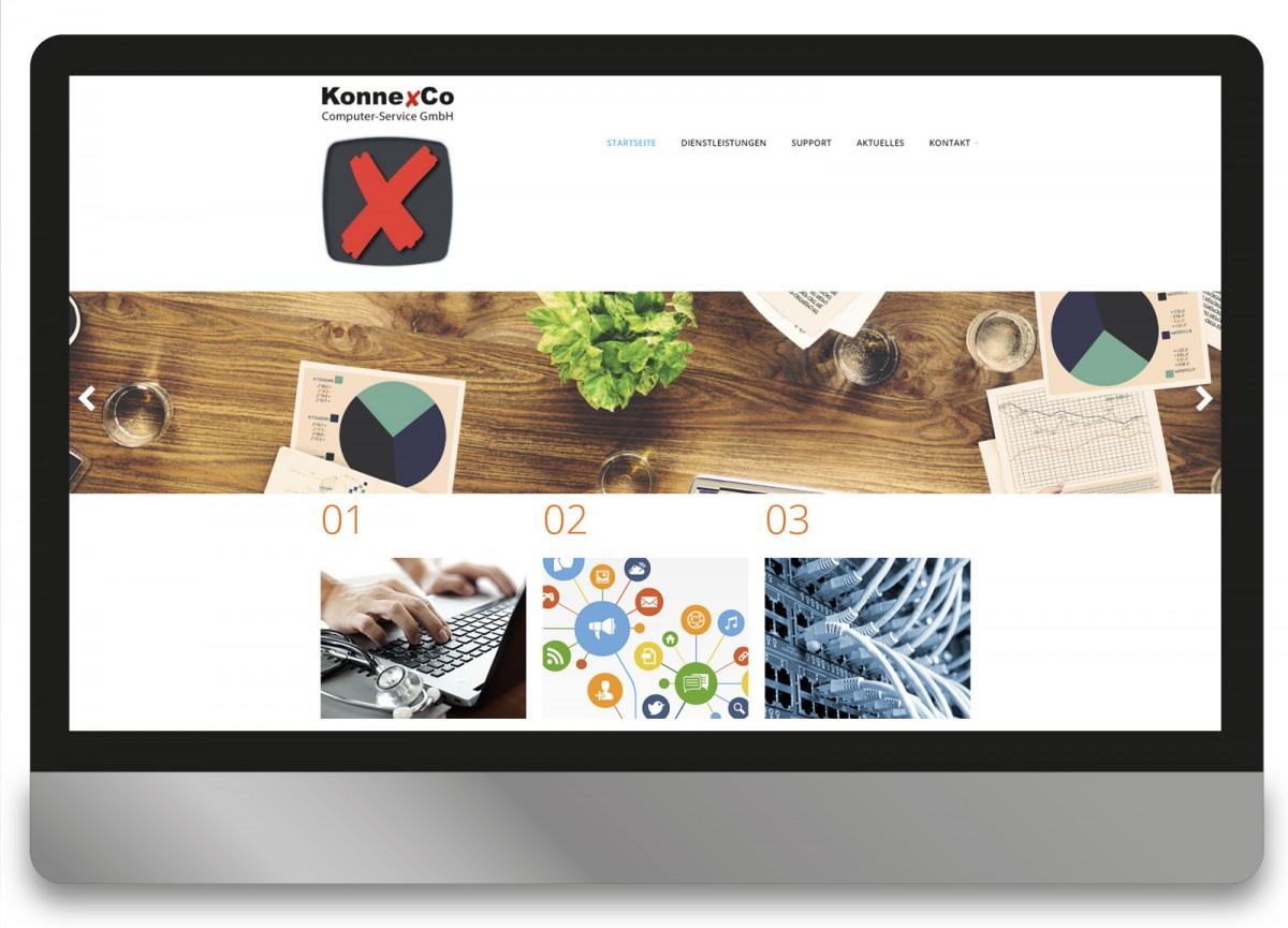 Konnexco Bensheim- Webdesign Andrea Zinecker