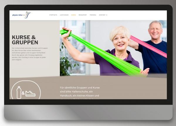 Physio-Rehamed Hanau - Yvonne Stauske - Webdesign Andrea Zinecker