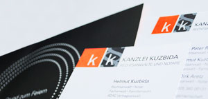 Kanzlei Kuzbida - Corporate Design Andrea Zinecker