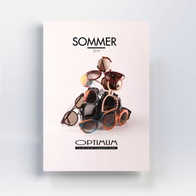 Sommerkatalog 2018 - Optimim - Volker Meyer Augenoptik - Grafikdesign Andrea Zinecker - freiraum id