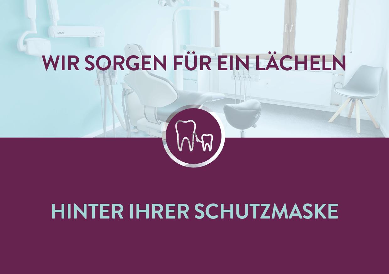 Flyer Layout WIR ZWEI Zahnarztpraxis Dr. Alt und Billing von freiraum id